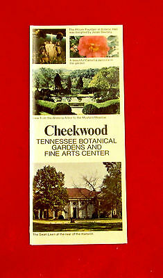 Cheekwood Tennessee Botanical Gardens and Fine Arts Center Travel Brochure golc