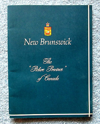 New Brunswick The Picture Province of Canada 1960s Travel Booklet meac5