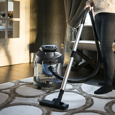 Ovation 1400W 4 in 1 Vacuum Cleaner Wet & Dry Vac Leaf Blower & Carpet Washer