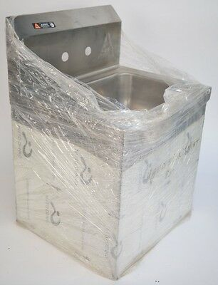 """Aero Manufacture 15.25""""x17""""x24.5"""" Hand Sink with Skirt and More(see description)"""