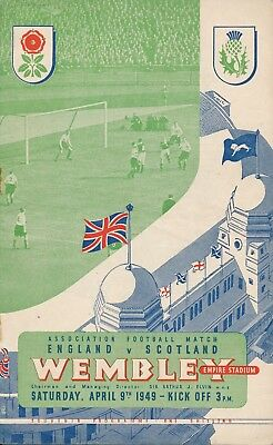 ENGLAND v Scotland (Home International @ Wembley) 1949
