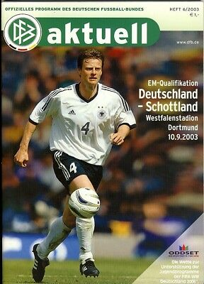 GERMANY v Scotland (European Championship) 2003