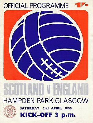 SCOTLAND v England (Home International) 1966