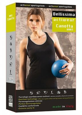 Women Vest Top Sport Actiwear A003 Fabric Breathable Seamless