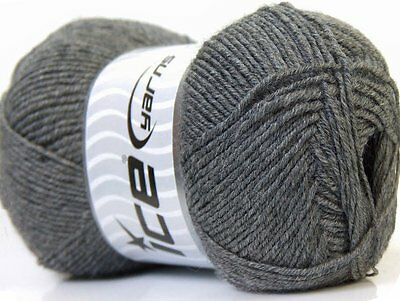 Lot of 4 x 100gr Skeins Ice Yarns CASHMERE GOLD (5% Cashmere 55% Virgin Wool)...