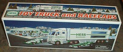 Hess Gasoline '03 Toy Truck and Racecars