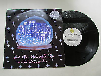"""Bjorn Again Santa Claus Is Coming To Town 12"""" Single 1992 Uk, (V.g.c.)"""