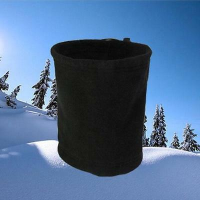 Winter Men Women Thermal Fleece Neck Warmer Snood Scarf Hat Ski Wear Snowboard Z