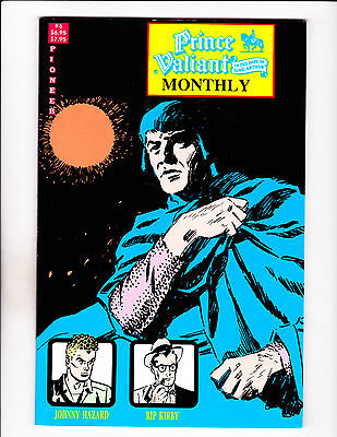 """Prince Valiant Monthly No 6  -1989-Strip Reprints Soft Cover- """"Hazard / Kirby """""""