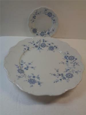 Christina BAVARIAN BLUE Seltmann Weiden Porcelain BB plate & Dinner Plat Germany