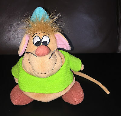 GUS THE MOUSE SOFT TOY CINDERELLA II CHARACTER BEANIE MIDDLE 16 cm