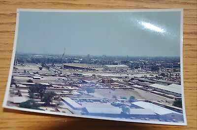Iraqi Freedom OIF 1st Armored Photograph 5 x 7 View onto Baghdad Intl Sports Std