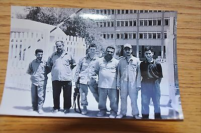 Iraqi Freedom OIF 1st Armored Photograph 5 x 7 The local interpreters at base