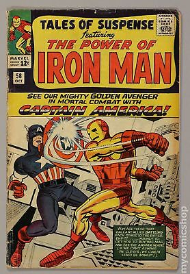 Tales of Suspense (1959) #58 GD 2.0