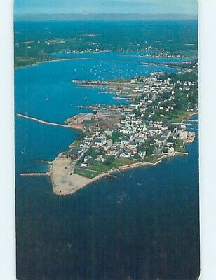 Pre-1980 AERIAL VIEW Stonington - by New London Connecticut CT A5400