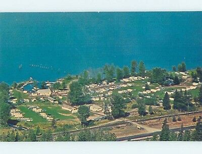 Pre-1980 CAMPING - TRAILER RESORT CAMPGROUND Hope by Sandpoint ID A4959