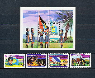 ALAC 125  ANTIGUA  Girl Scouts & Girl Guides 1981  MNH