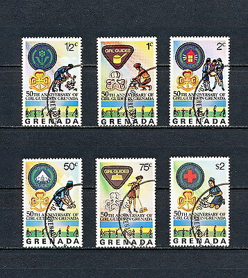 ALAC 076  GRENADA  Girl Scouts & Girl Guides 1976  CTO