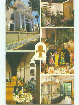 Five View On Card - Gran Casino Hotel - Old San Juan Puerto Rico PR HQ2751