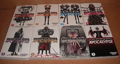 Magical Girl Apocalypse Vol. 1,2,3,4,5,6,7,8 Manga Graphic Novels Set English