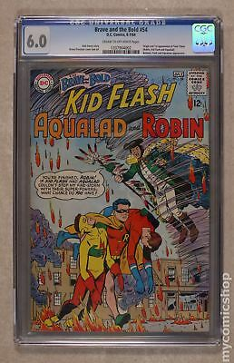 Brave and the Bold (1955 1st Series DC) #54 CGC 6.0 1337904002