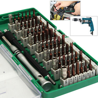 60in1 Precision Torx Screwdriver Bit Cell Phone Tablet Laptop PC Repair Tool Kit