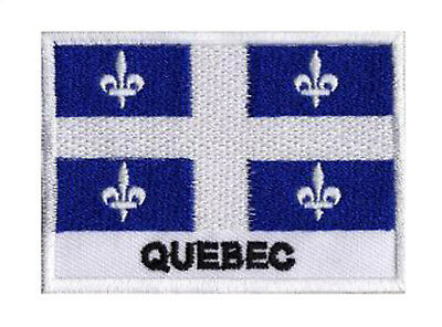 patch for sewing patch shield patch flag Quebec Quebec 70/45 mm