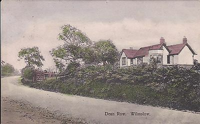 Cheshire  Wilmslow   Posted Locally  in 1908 Jones Publ.