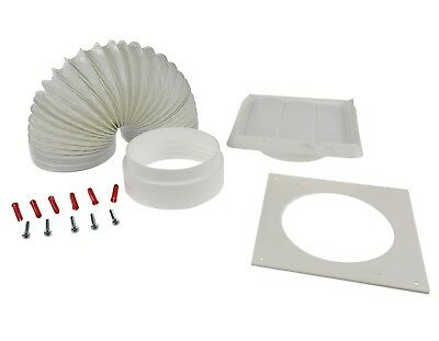 Universal Oven Cooker Hood Extraction Vent / Duct Kit Extractor Venting Set