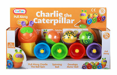 Charlie the Caterpillar Pull Along Toy