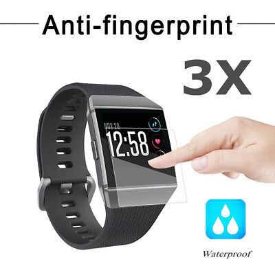 3Pcs Explosionproof Waterproof LCD Screen Protector Film Shiled For Fitbit Ionic