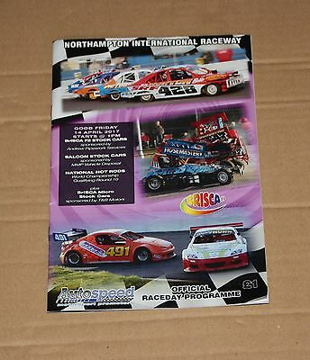 2017 Northampton Brisca F2, 2L Saloons, Nat. Hot Rods programme, 14 April