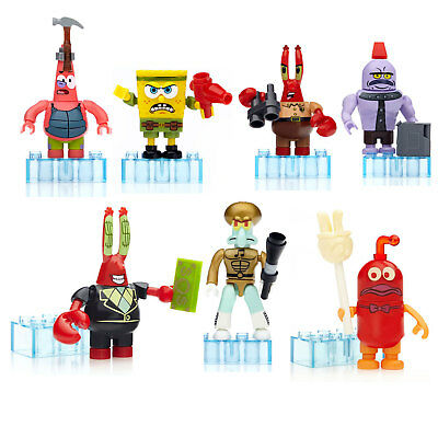Mega Bloks SpongeBob Micro Action Figures  *Choose Your Favourite*