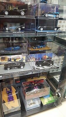Eaglemoss batman automobilia collection 3 different models with magazines