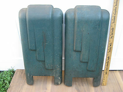 VTG 1920-30'S YATES-AMERICAN MACHINE JOINTER Cast Iron Legs Industrial Art Deco