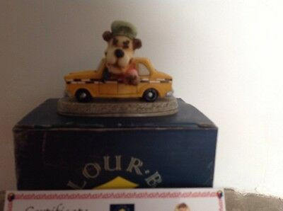 Colour Box Miniature, First Edition, Barely Calm, Driver , Yellow Taxi
