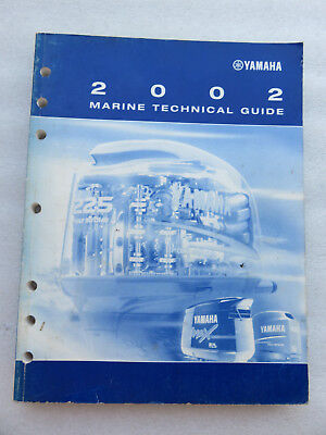 2002 Yamaha Outboard Marine Technical Guide Service Manual OEM LIT-18865-01-02