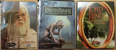 LOTR Lord of the Rings Evolution set sketch stained glass costume promo cards