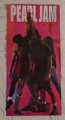 Pearl Jam 1992 Two-Sided Ten Promo Poster