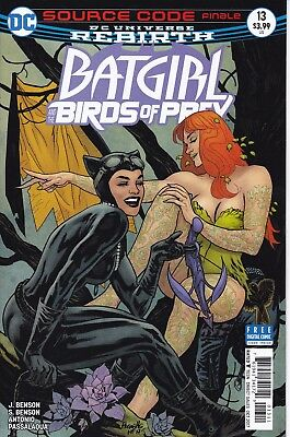 BATGIRL AND THE BIRDS OF PREY (2016) #13 - DC Universe Rebirth - New Bagged