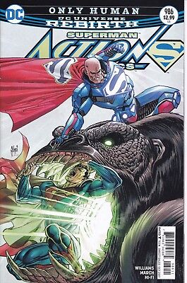 ACTION COMICS (2016) #986 - Cover A - DC Universe Rebirth - New Bagged
