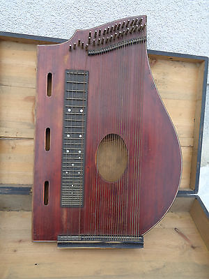 Alte Zither Luftresonanzzither