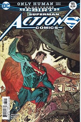 ACTION COMICS (2016) #985 - Cover A - DC Universe Rebirth - New Bagged