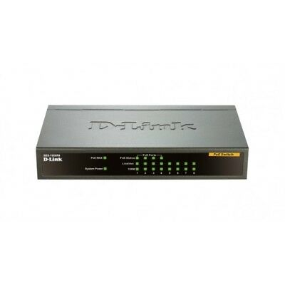 NEW! D-Link Des-1008Pa Network Switch DES-1008PA
