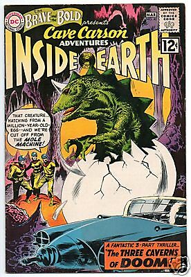 Brave And The Bold  40   Cave Carson