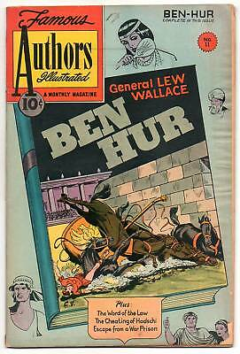 Famous Authors Illustrated :: 11 :: Ben Hur