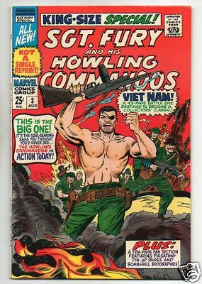 Sgt. Fury And His Howling Commandos :: 3 :: Vietnam