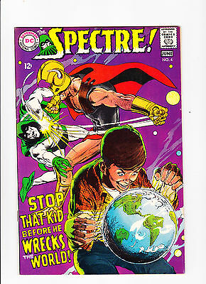 The Spectre!  No.4  :: 1968 ::  :: Neal Adams Cover ::