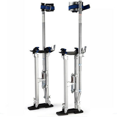 "Adjustable 48"" - 64"" Drywall Stilts Painters Walking Taping Finishing Tools US"