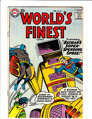 World's Finest  No.99     : 1959 :     : Robot Cover! :